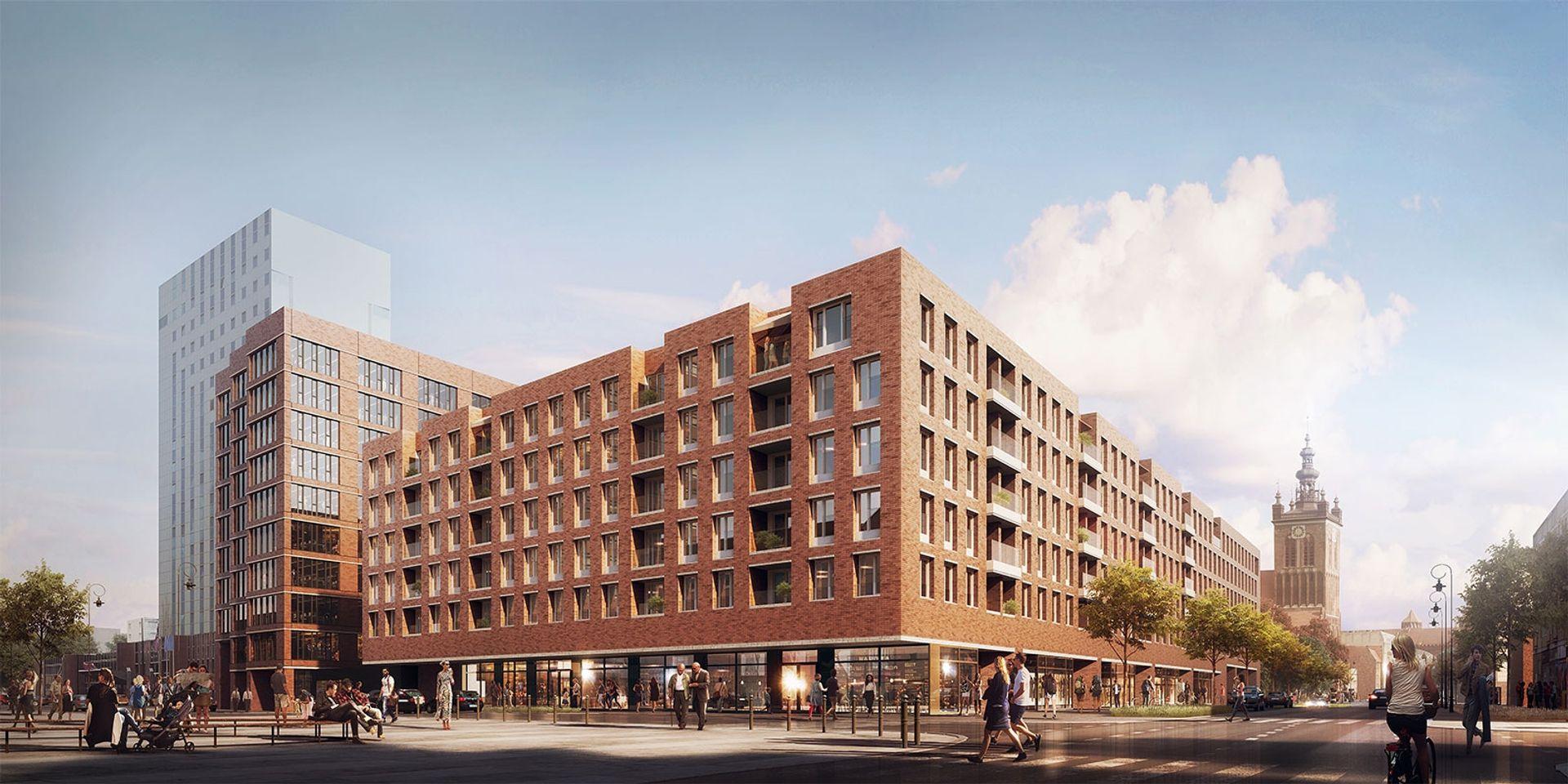 [Gdańsk] Rajska 8: rusza sprzedaż mieszkań – gdańska inwestycja z prawomocnym pozwoleniem na budowę