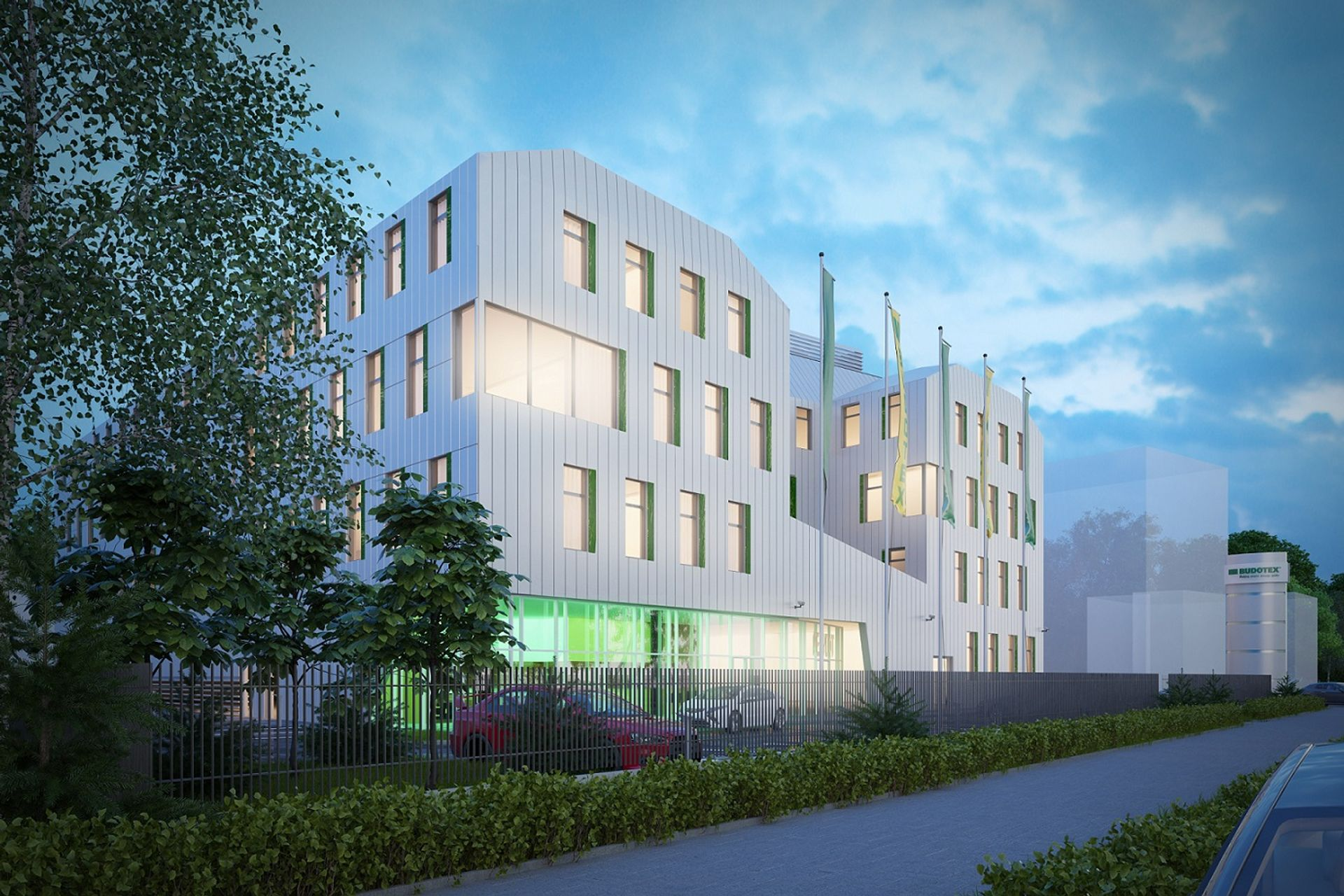 [Wrocław] Budotex buduje biurowiec Perydot