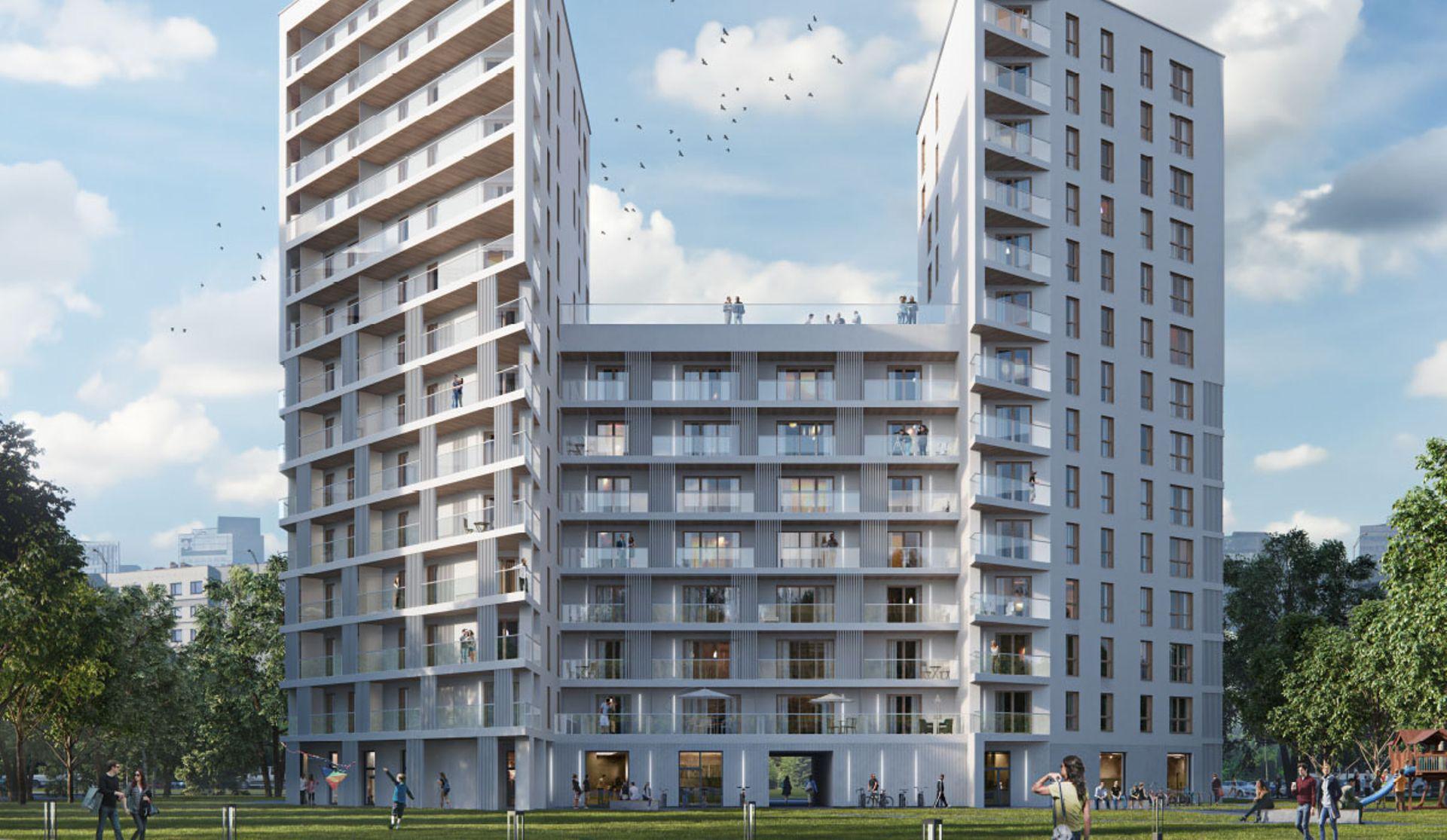 Warszawa: Yugo – Profbud zbuduje na Gocławiu budynek mieszkalny z dwiema wieżami