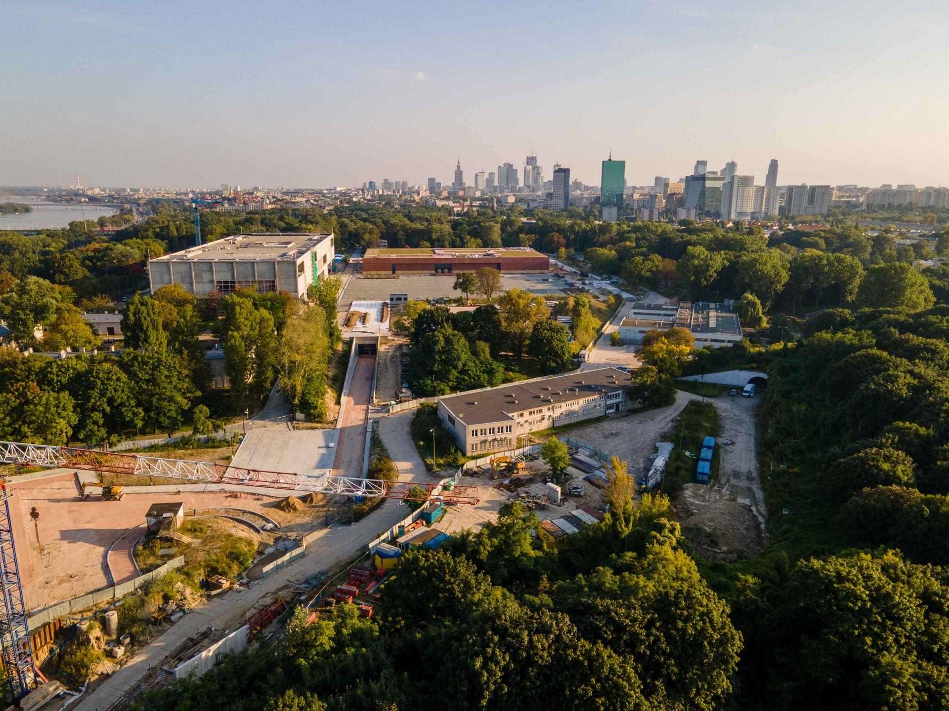 W Warszawie powstaje kompleks Muzeum Wojska Polskiego [FILM + ZDJĘCIA]