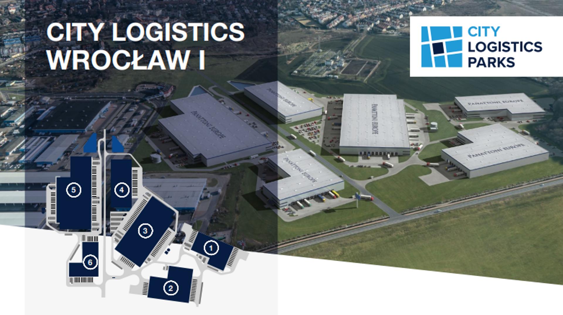 Wrocław: Panattoni Europe wybuduje na Oporowie City Logistics Wrocław I