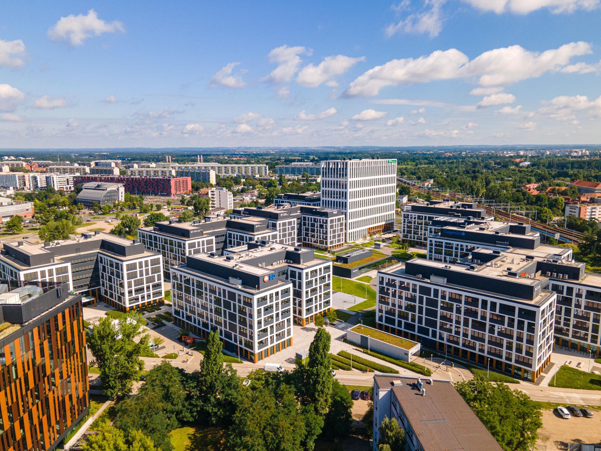 Pierwsze symptomy ożywienia na wrocławskim rynku biurowym po II kwartale 2021 r.