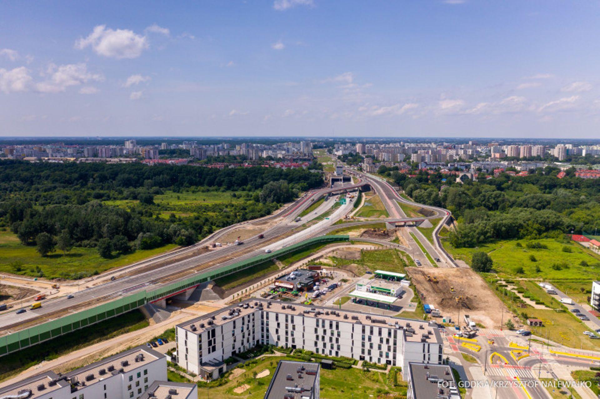 Dobiega końca budowa Południowej Obwodnicy Warszawy [FILM + ZDJĘCIA]