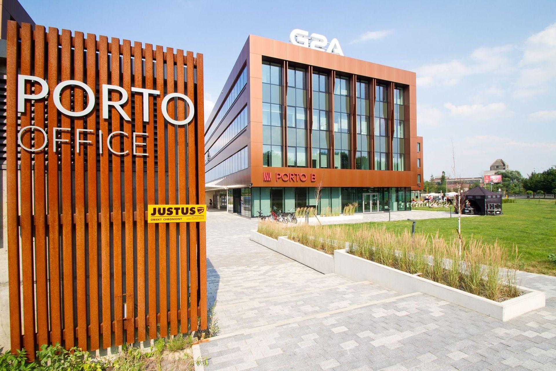 [Kraków] Drugi budynek kompleksu Porto Office w Krakowie na ukończeniu