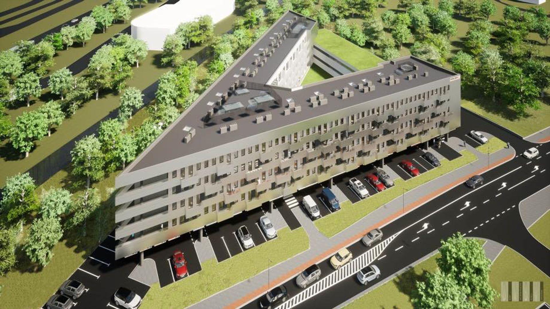 Wrocław: Naprzeciwko Toru Wyścigów Konnych powstaje nowy obiekt hotelowy [ZDJĘCIA + WIZUALIZACJE]