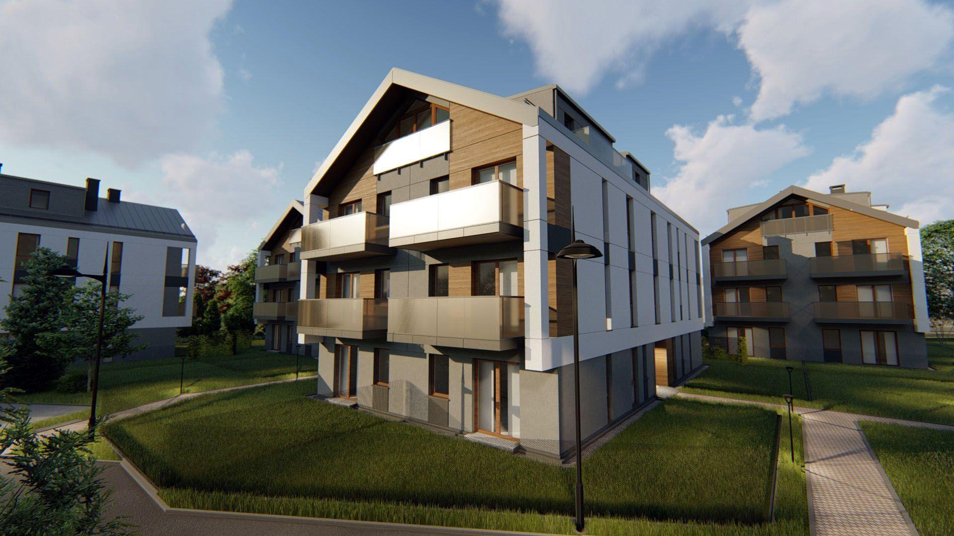 Kraków: Łokietka 213 – Real Construct stawia nowe osiedle na Prądniku Białym