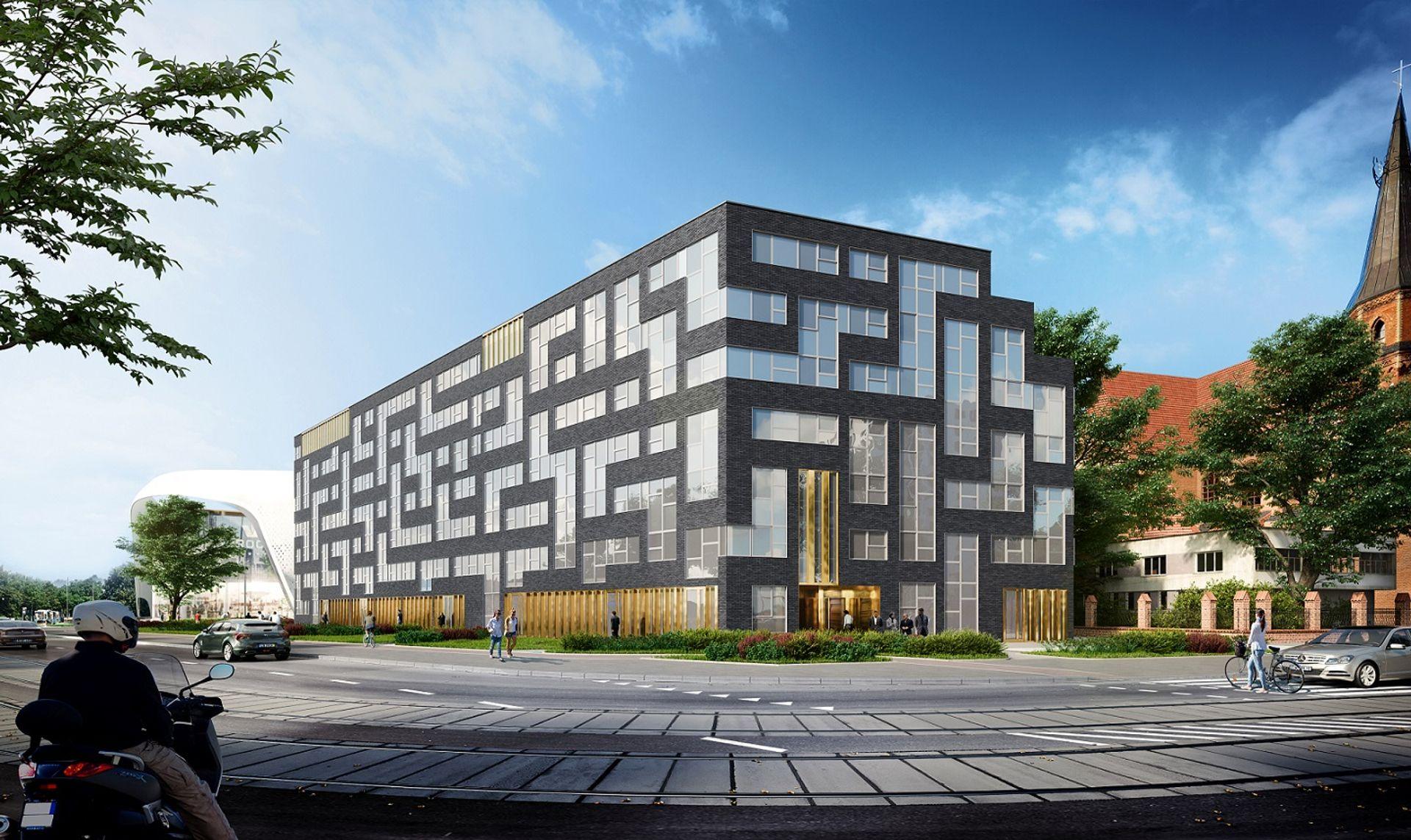 [Wrocław] Tuż obok Wroclavii stanie mikroapartamentowiec. Tak będzie wyglądać Starter III [WIZUALIZACJE]