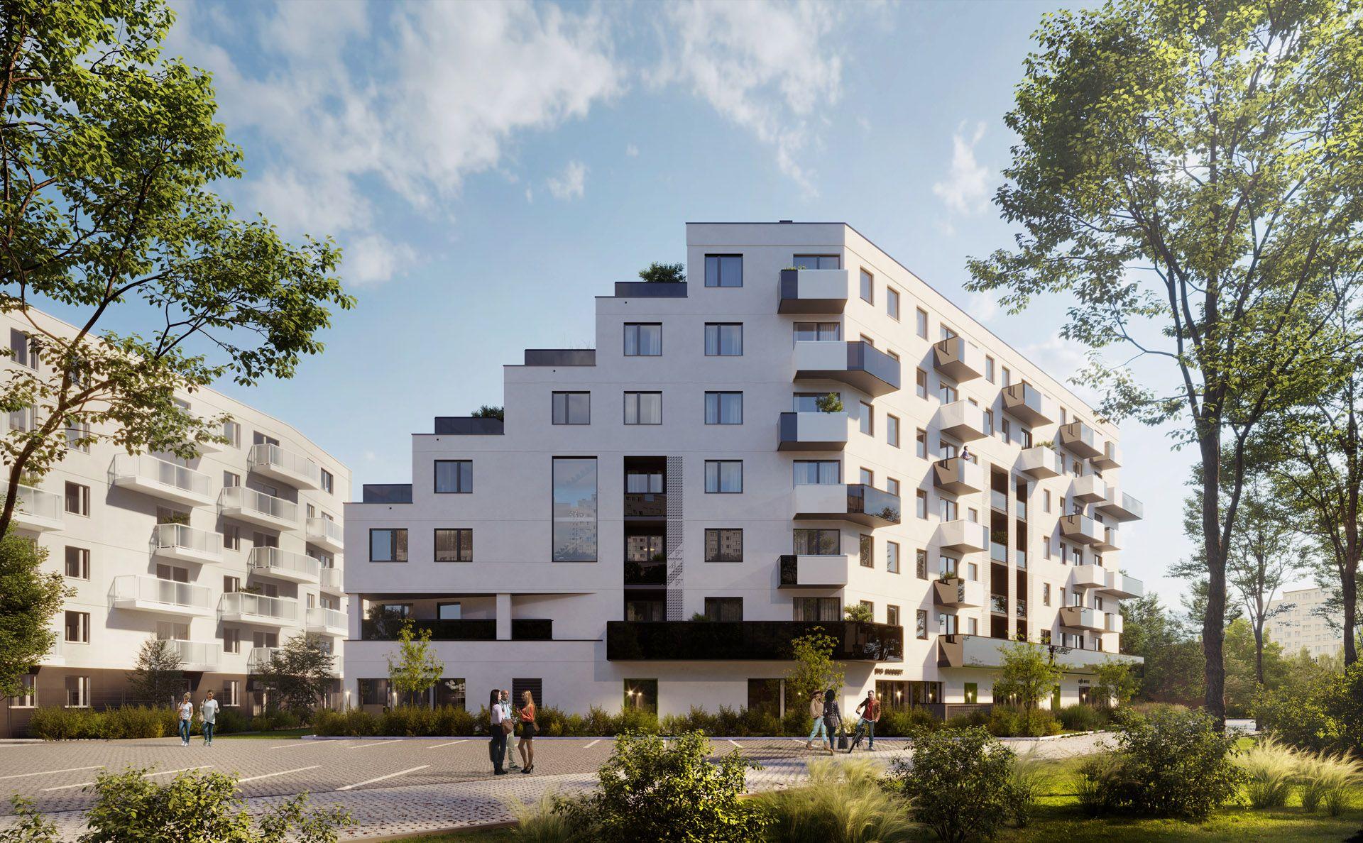 Develia rozpoczęła we Wrocławiu budowę osiedla Kaskady Różanki