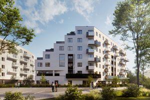 Develia rozpoczęła we Wrocławiu budowę osiedla Kaskady Różanki [WIZUALIZACJE]