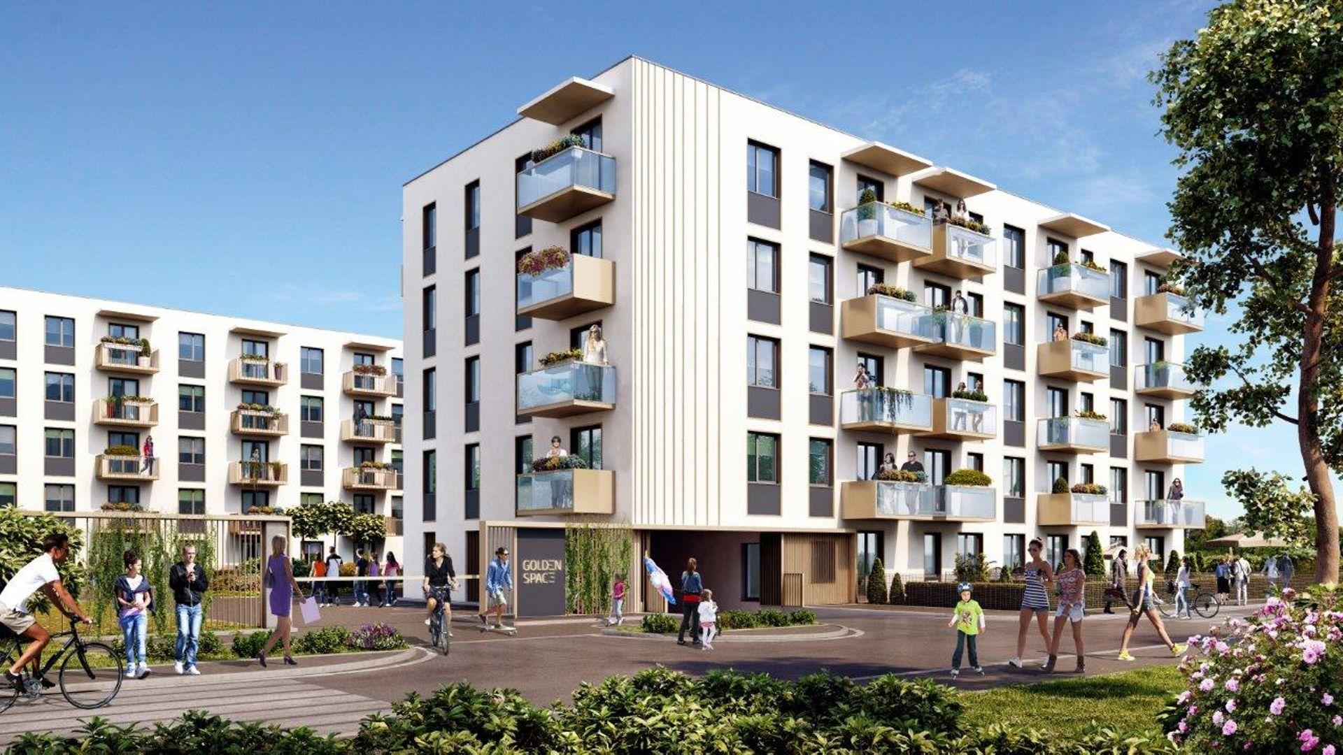 Warszawa: Golden Space – Nexity wprowadzi na rynek ponad sto mieszkań w Starych Włochach