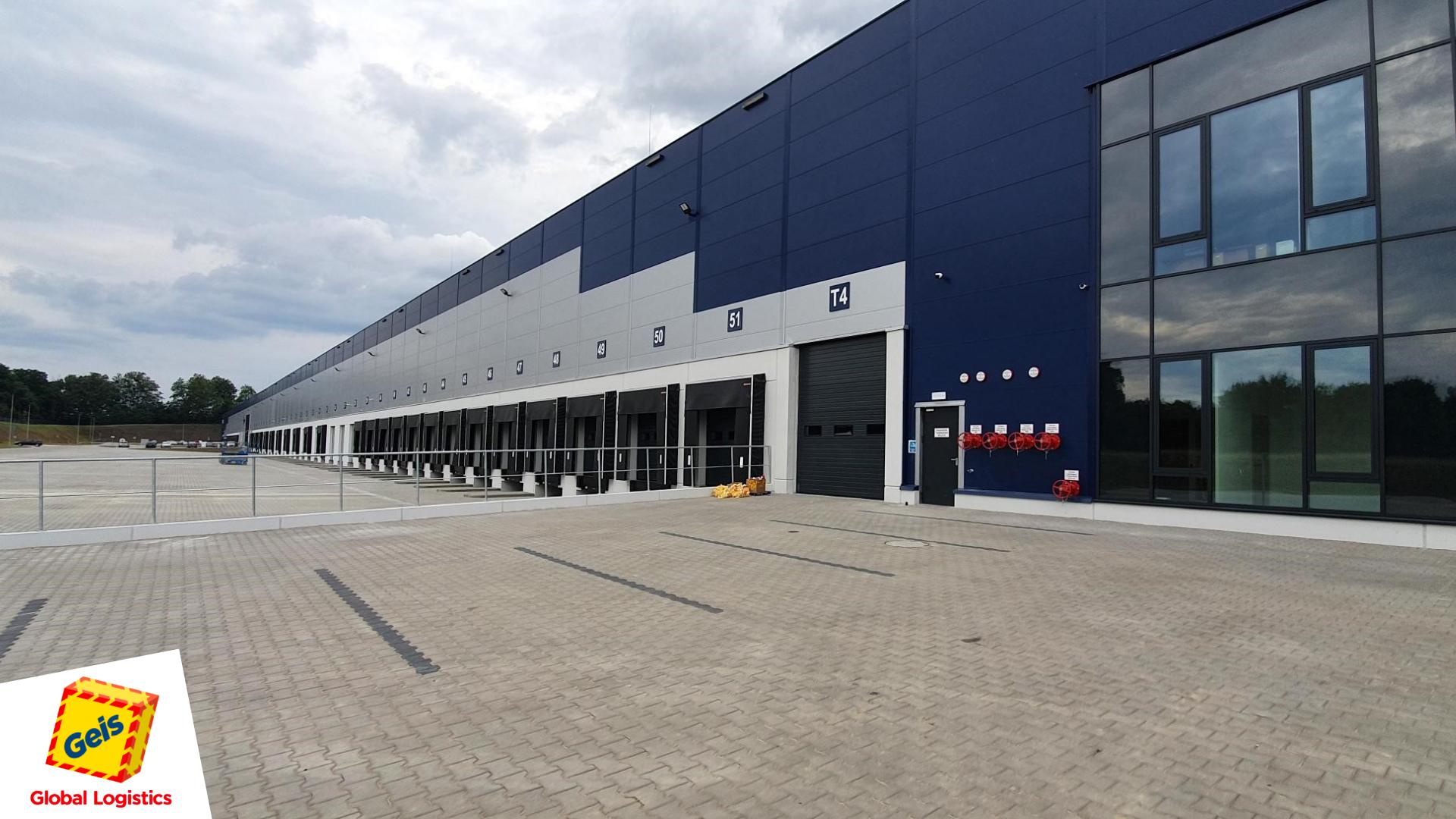 Niemiecka firma logistyczna Geis zainwestowała w Legnicy