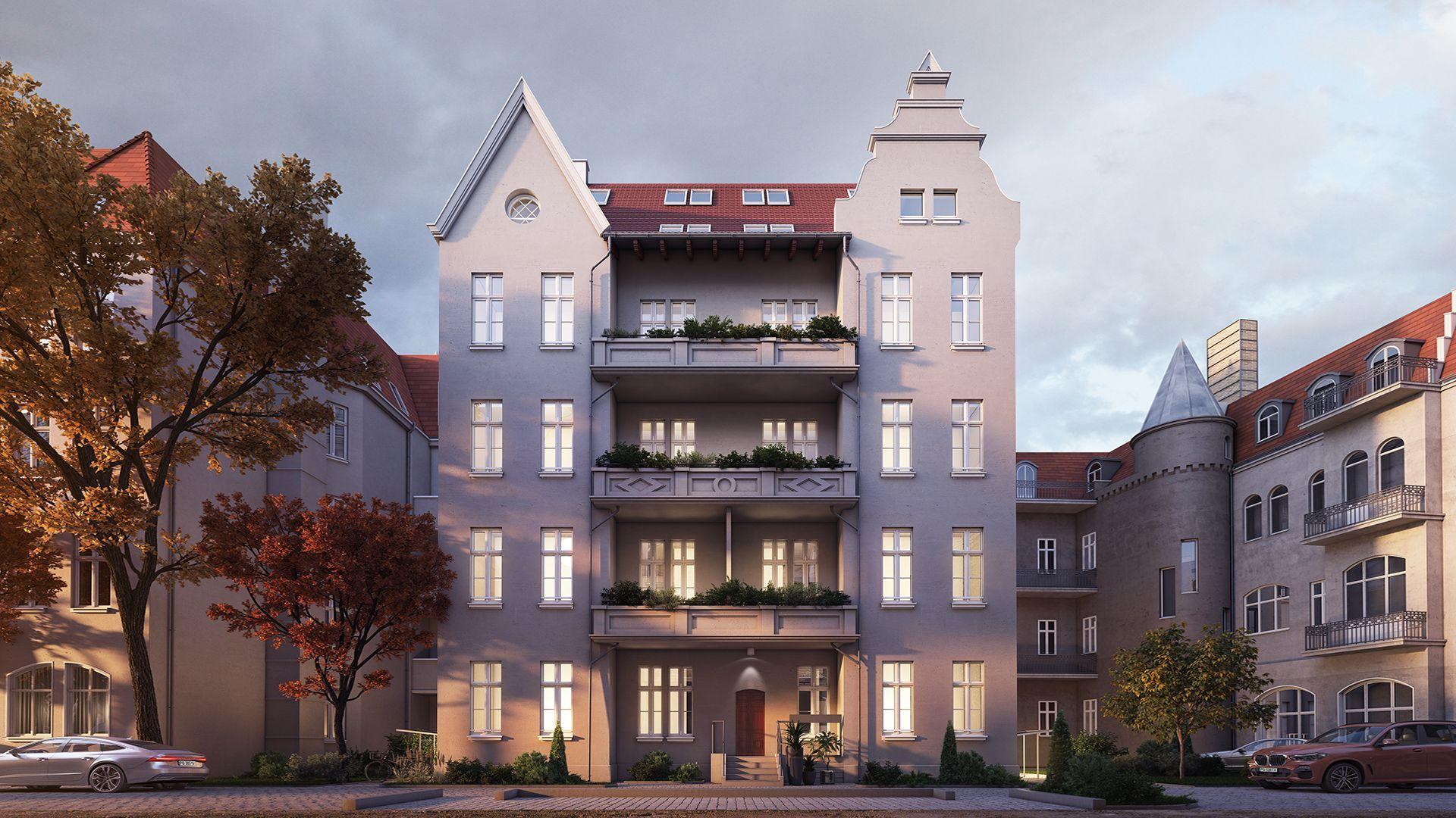 Poznań: Matejki 51 – Constructa Plus zmienia zabytkową kamienicę na Grunwaldzie w apartamentowiec