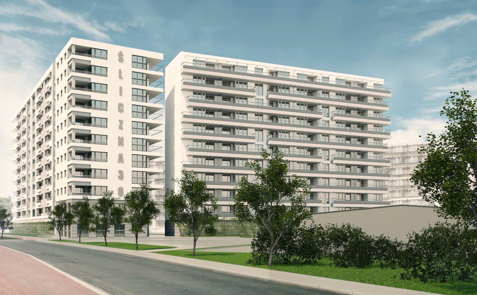 Kraków: Trwa budowa osiedla Śliczna 36i6 na Prądniku Czerwonym