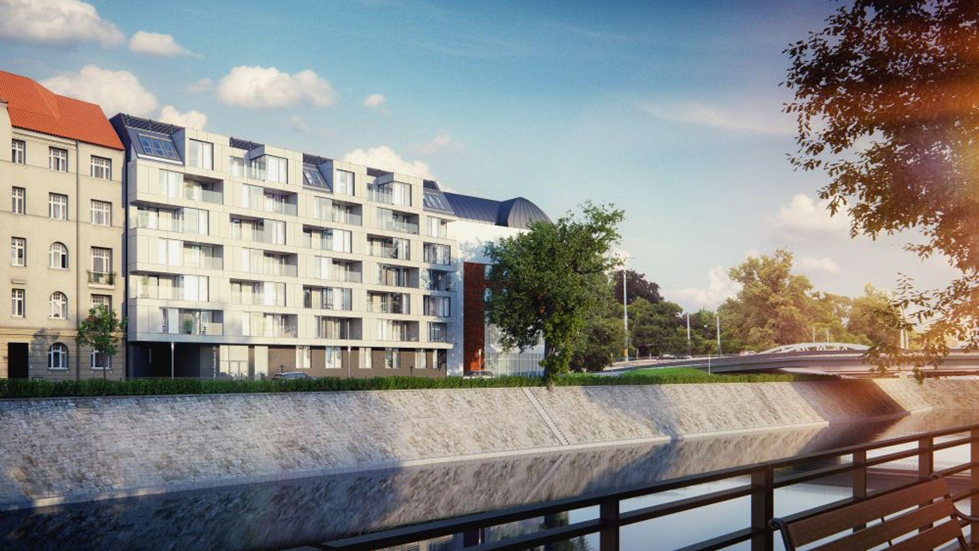 [Wrocław] Apartamentowiec Zyndrama podąża za trendami ekologicznego budownictwa