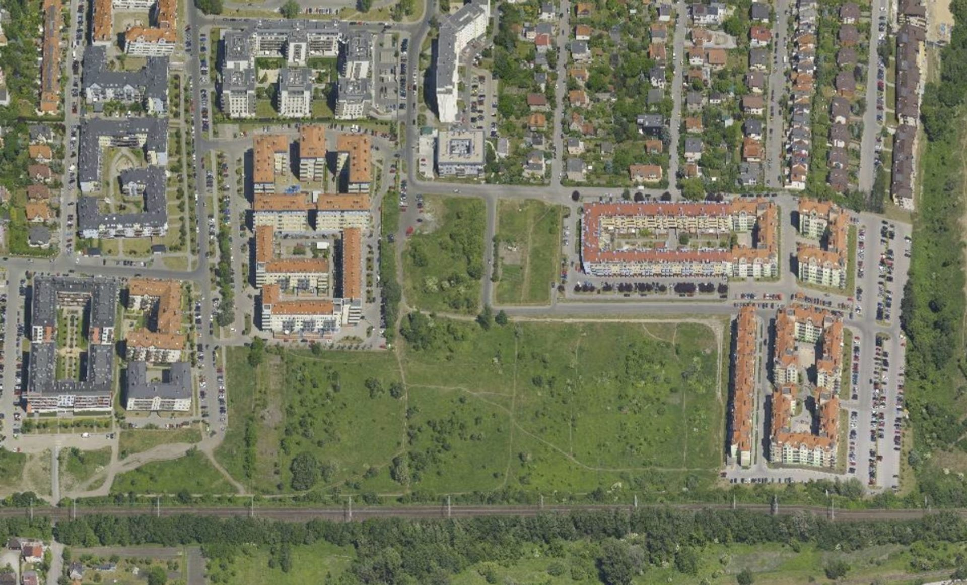 [Wrocław] Gaj się zmienia. Będzie nowy park, szkoła i drogi