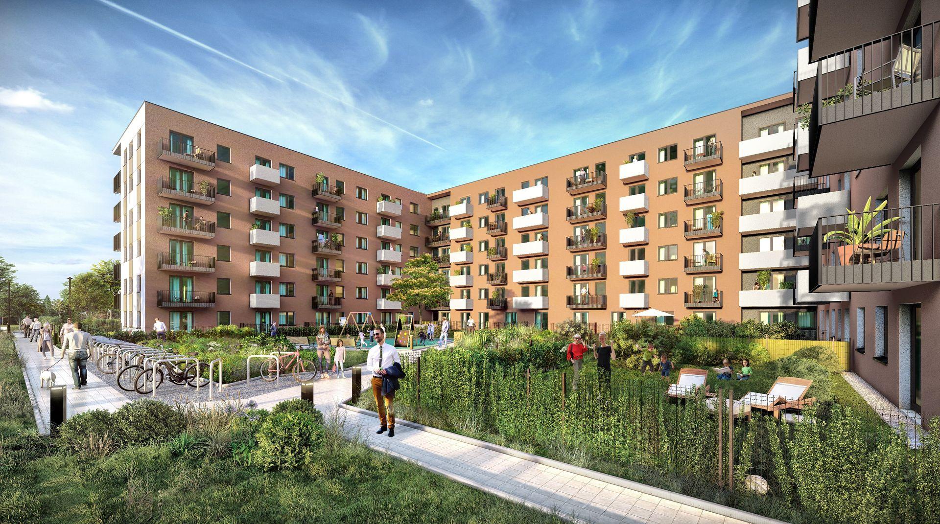 Nexity wystartowało ze sprzedażą nowego etapu osiedla City Vibe w Krakowie