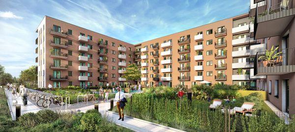 Nexity wystartowało ze sprzedażą nowego etapu osiedla City Vibe w Krakowie [WIZUALIZACJE]