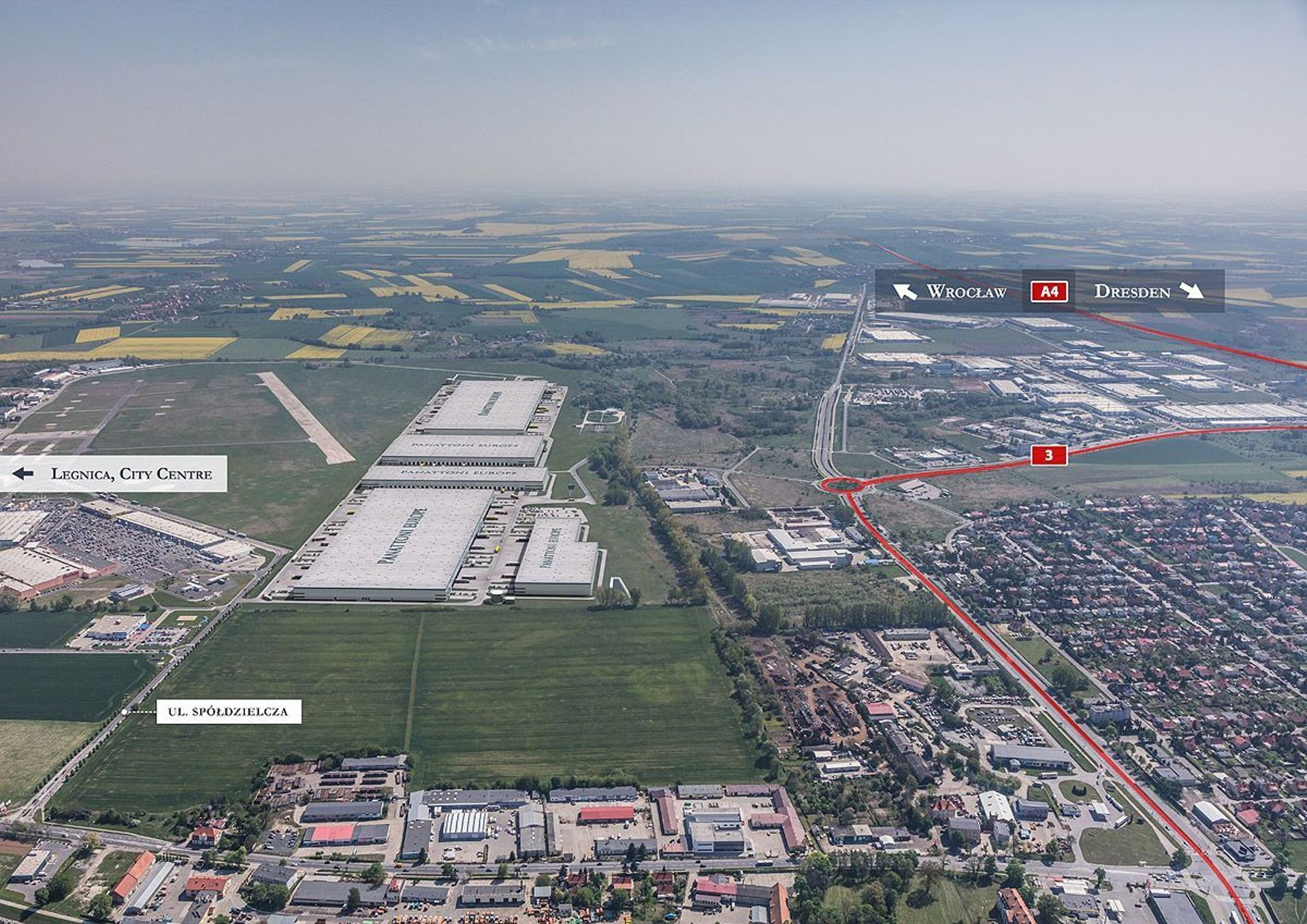 Nowy duży najemca w Panattoni Park Legnica. Będą nowe miejsca pracy