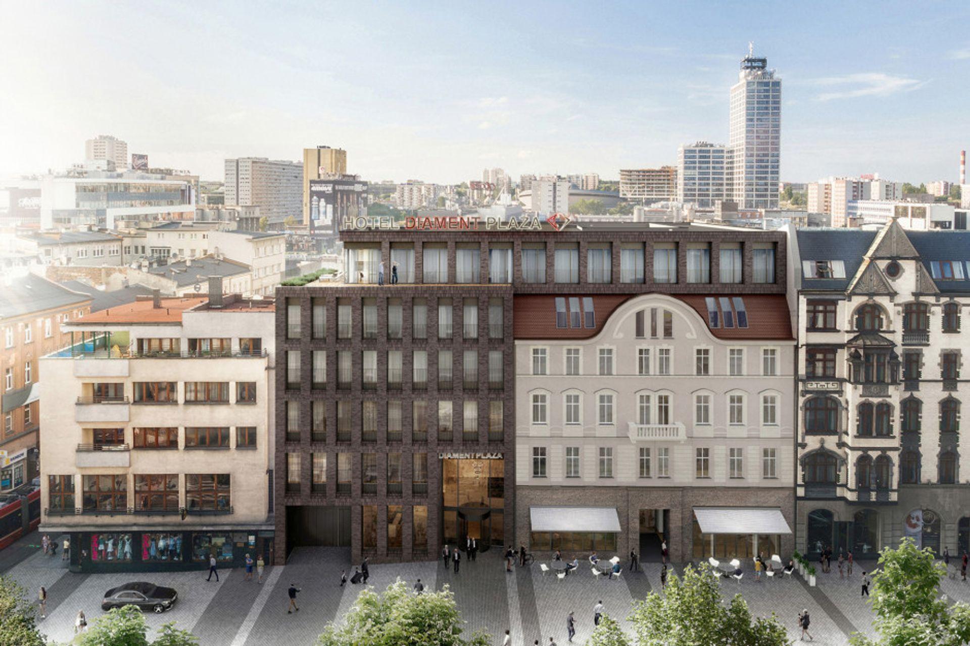Wkrótce otwarcie hotelu Diament Plaza w centrum Katowic