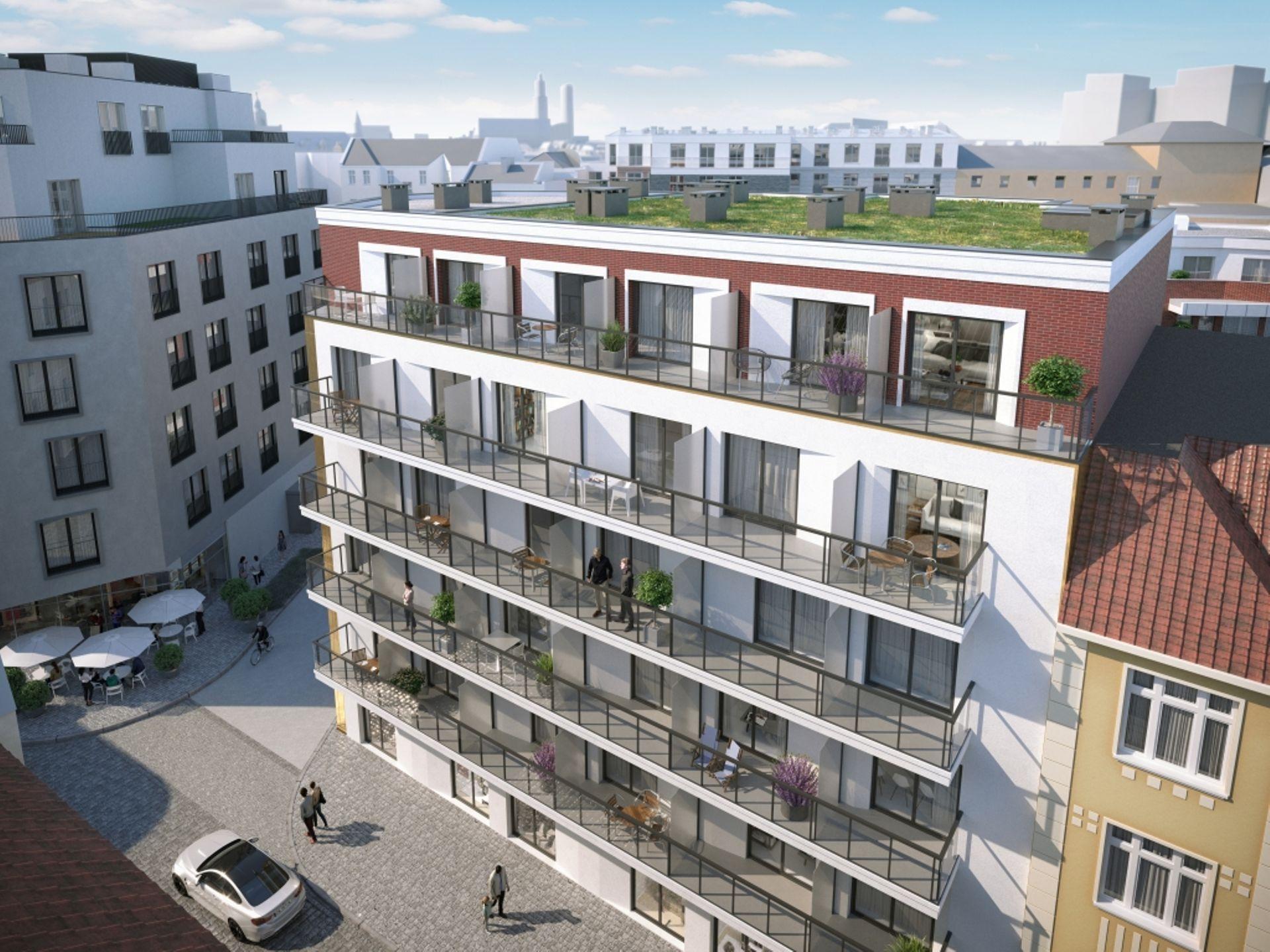 Wrocław: Śrutowa 10 – i2 Development stawia na Nadodrzu apartamentowiec z pakietami mieszkań