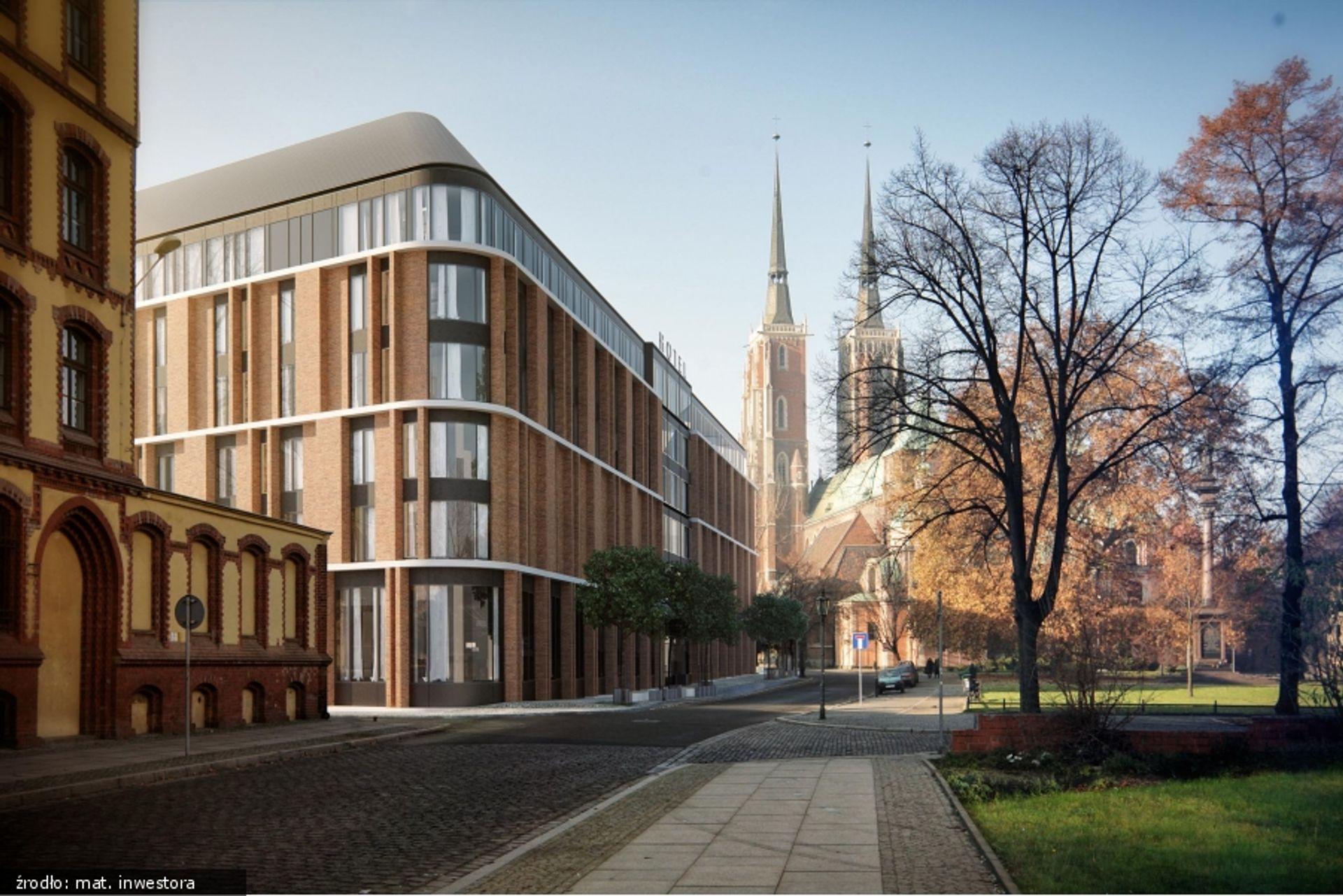 [Wrocław] Strabag generalnym wykonawcą nowego hotelu przy Placu Katedralnym
