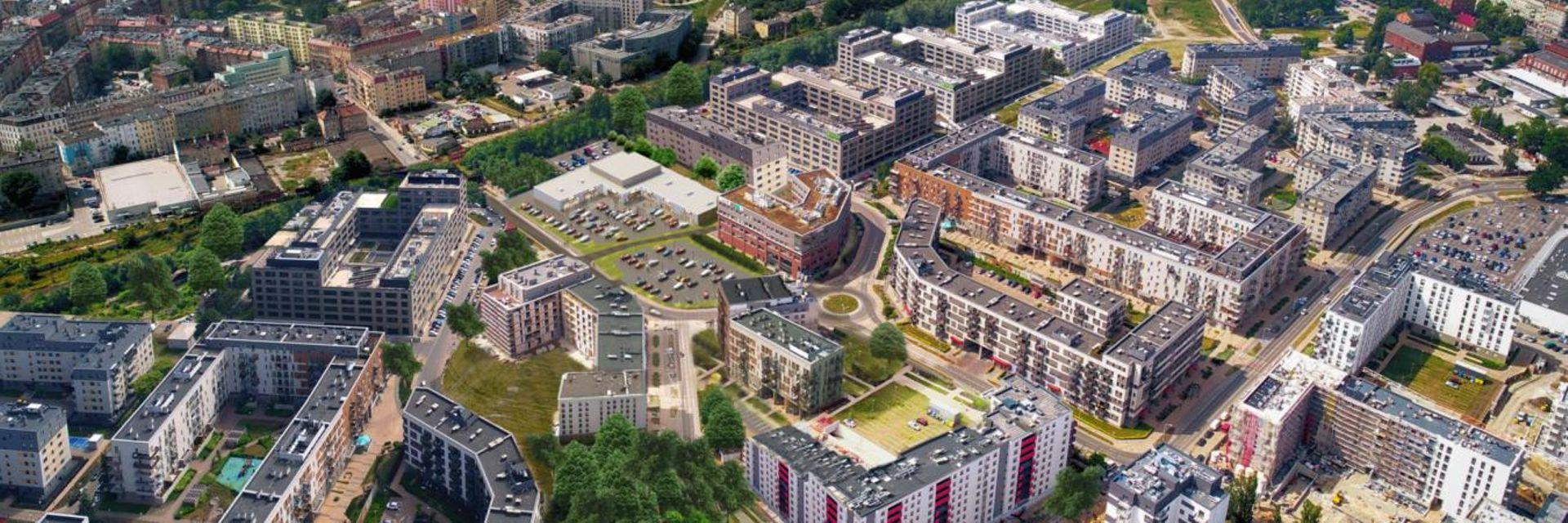 Wrocław: Na Kleczkowie powstaje nowe centrum handlowe