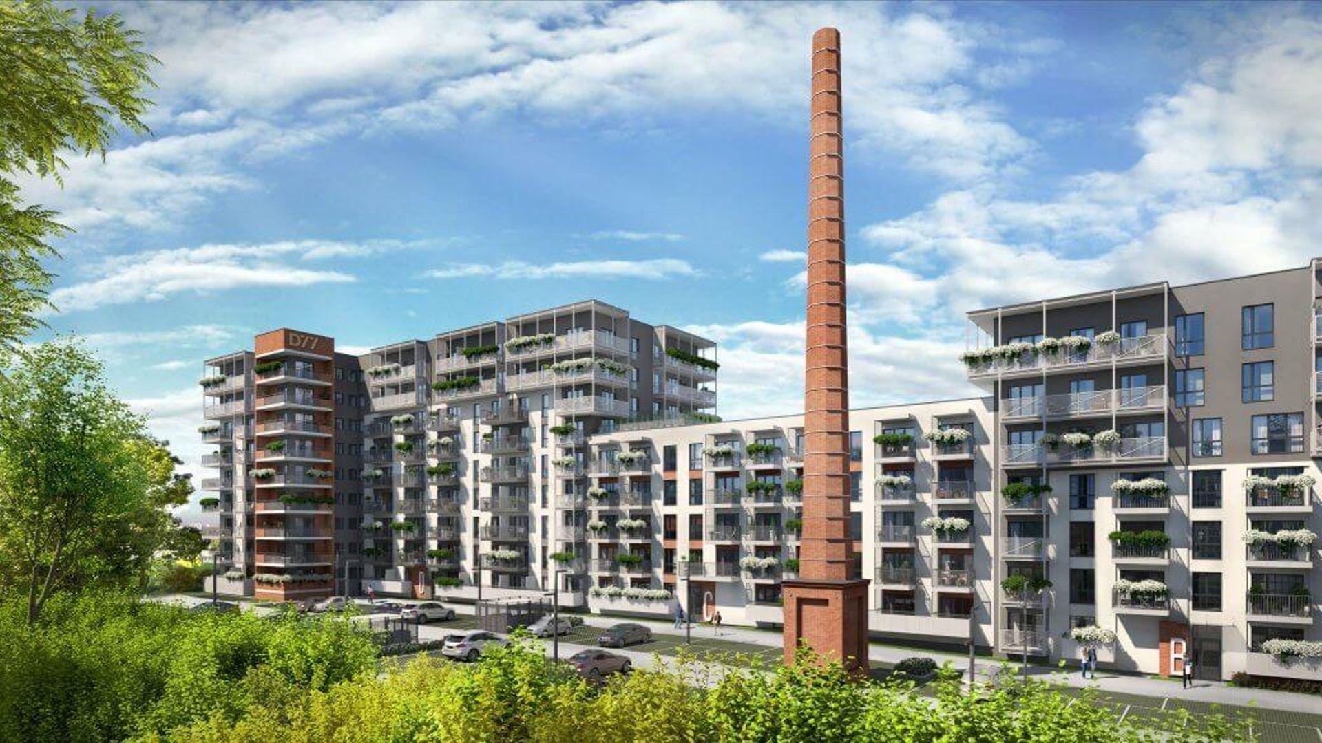 Łódź: Drewnowska 77 – w zabytkowym kompleksie przy Manufakturze powstają lofty i apartamenty