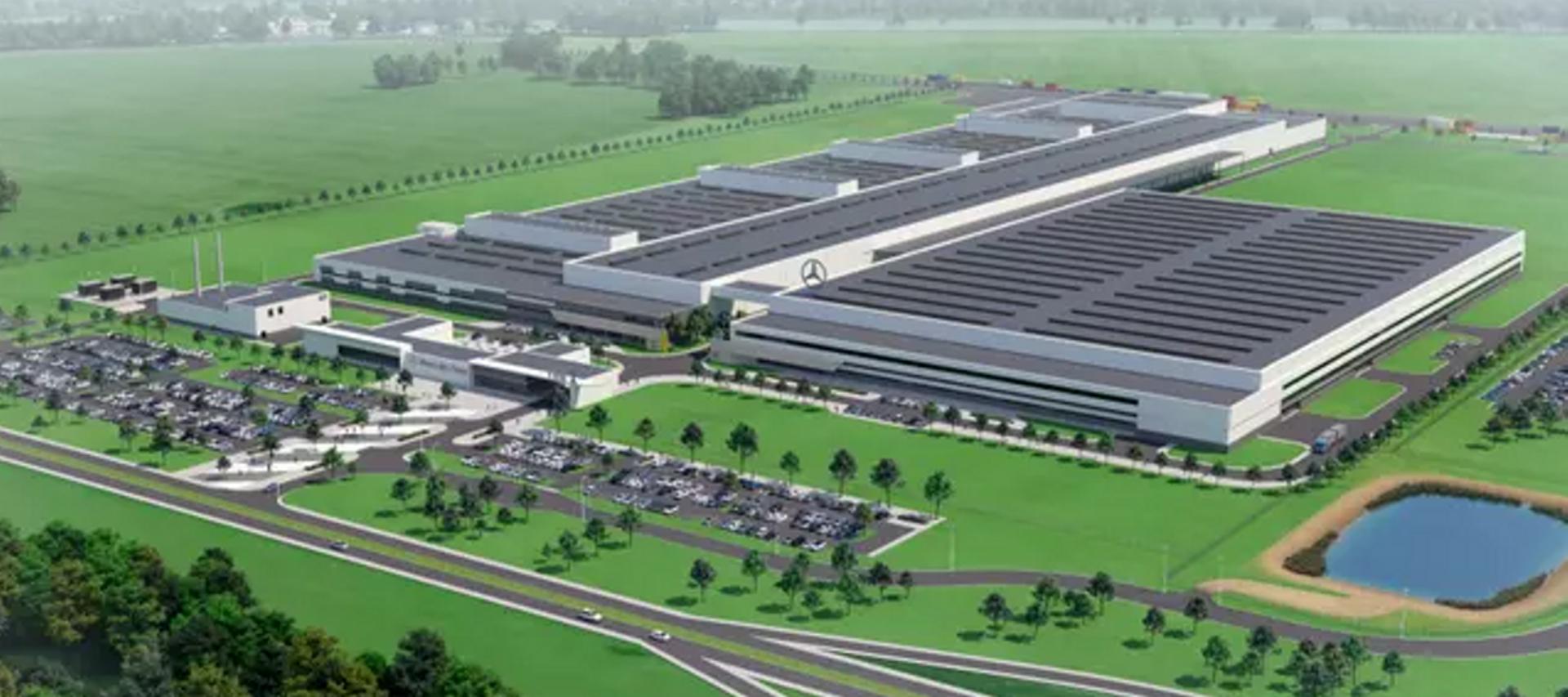 Dolny Śląsk: Eiffage zrealizuje za 300 mln zł kolejny etap budowy fabryki silników Mercedes-Benz w Jaworze