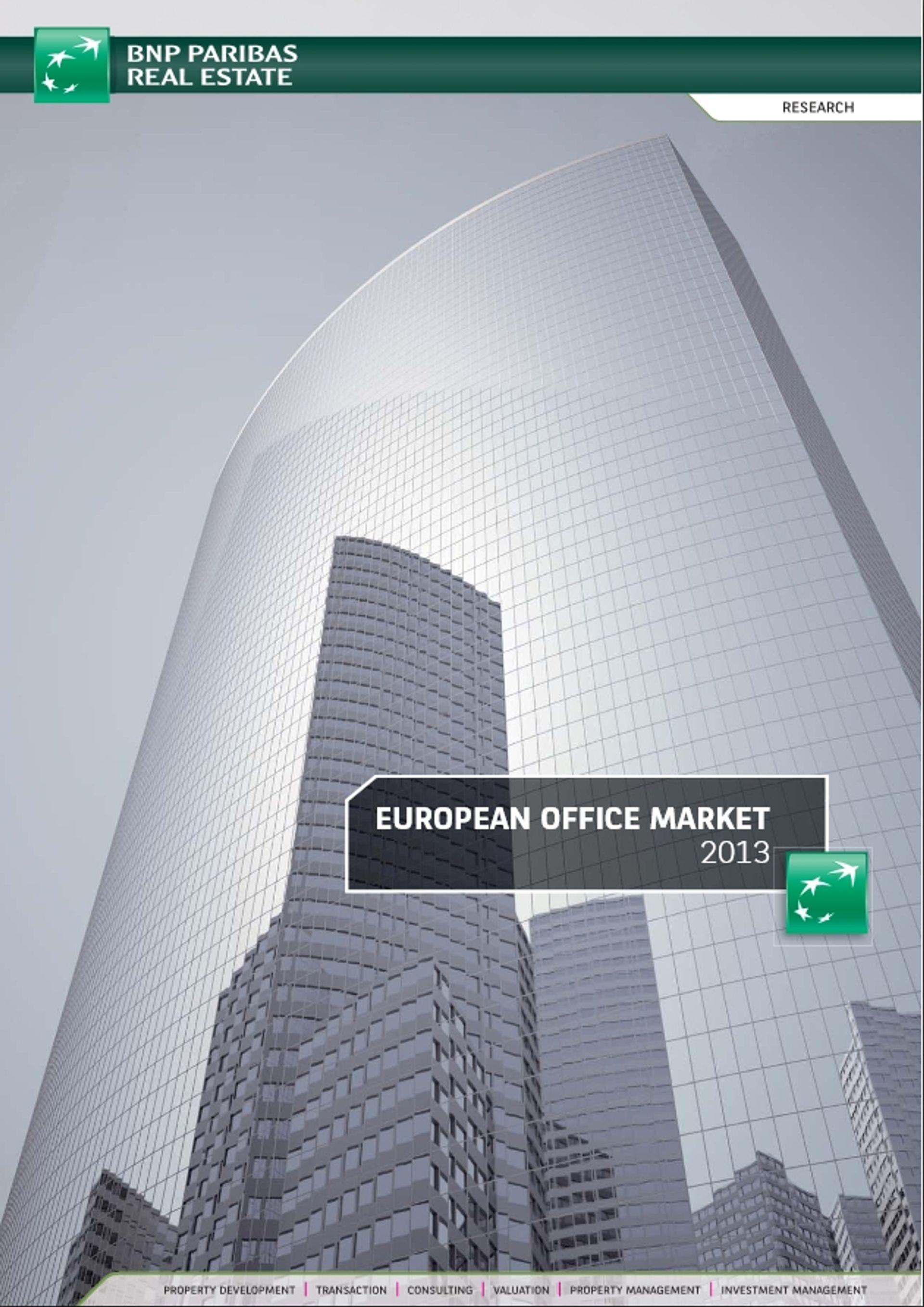 [Warszawa] Warszawa na tle Europy – BNP Paribas Real Estate przedstawia raport Europejski Rynek Biurowy 2013