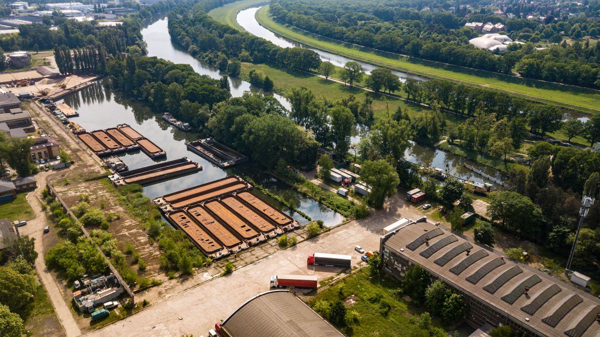 Wrocław: Wraca kwestia zabudowy dawnej stoczni. Miał tam stanąć wieżowiec