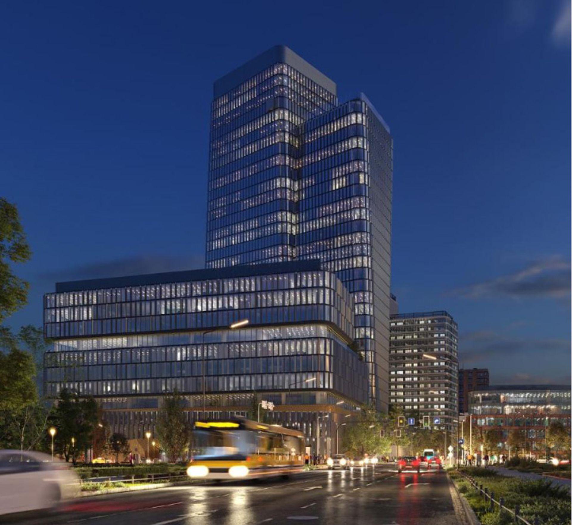 We Wrocławiu trwa budowa kompleksu Quorum ze 140 i 73-metrowymi wieżowcami [FILM + ZDJĘCIA]