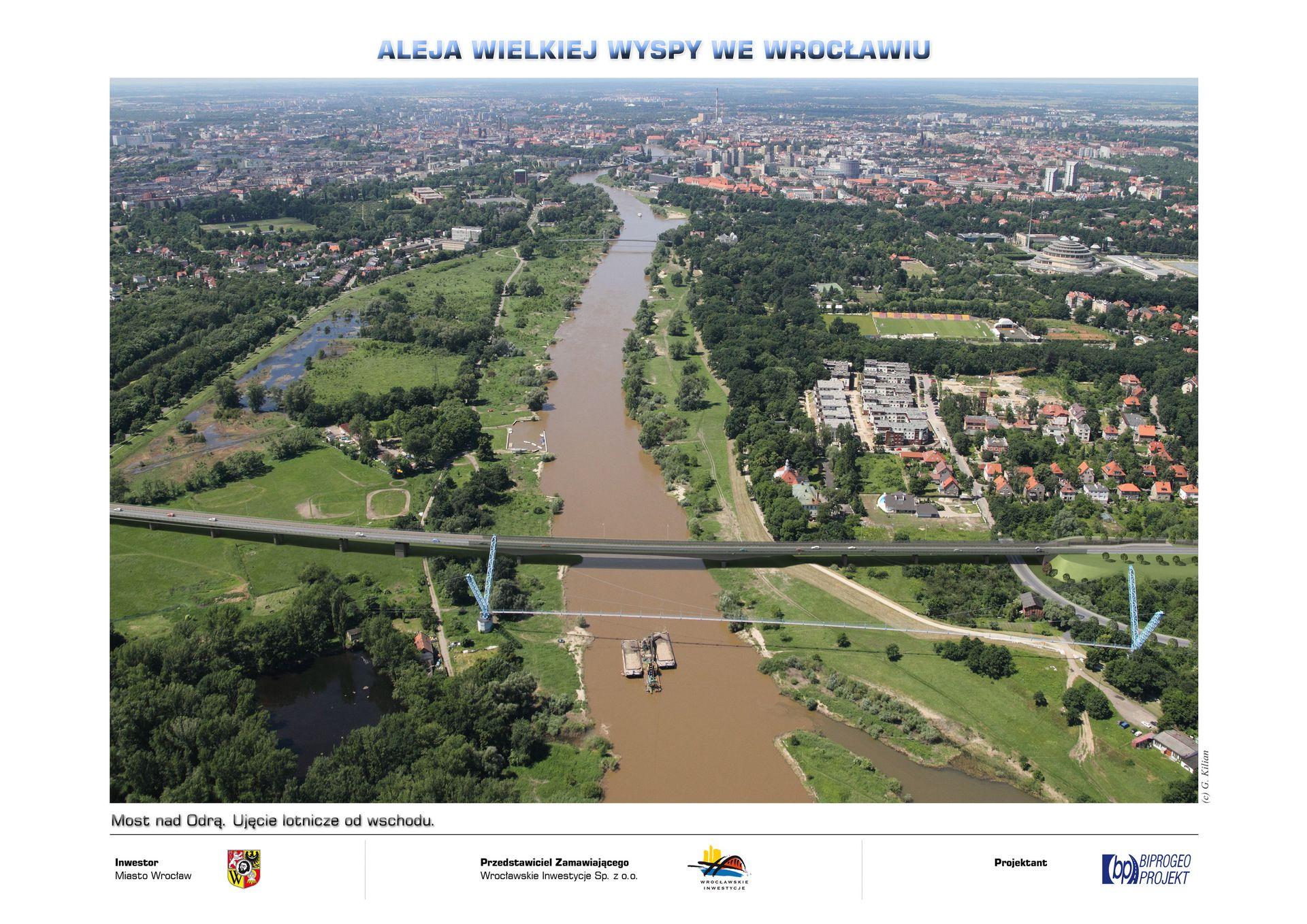 Wrocław: Banimex zaprojektuje i wybuduje Most Wschodni i Aleję Wielkiej Wyspy